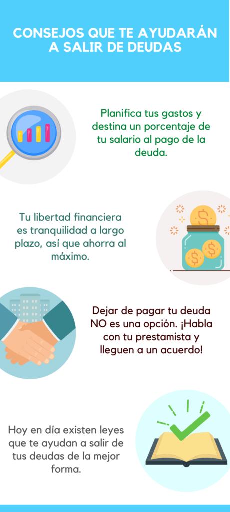 Consejos para salir de deudas