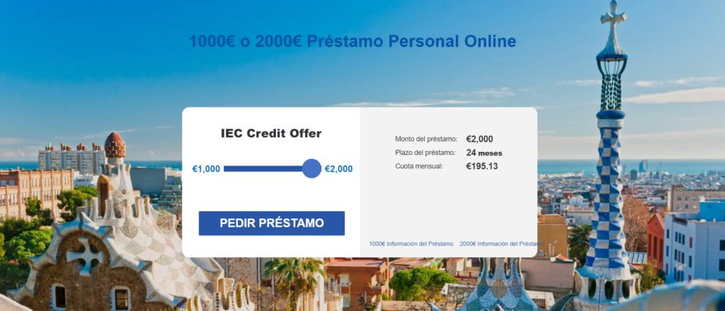 IEC Credit ¿cómo funciona?