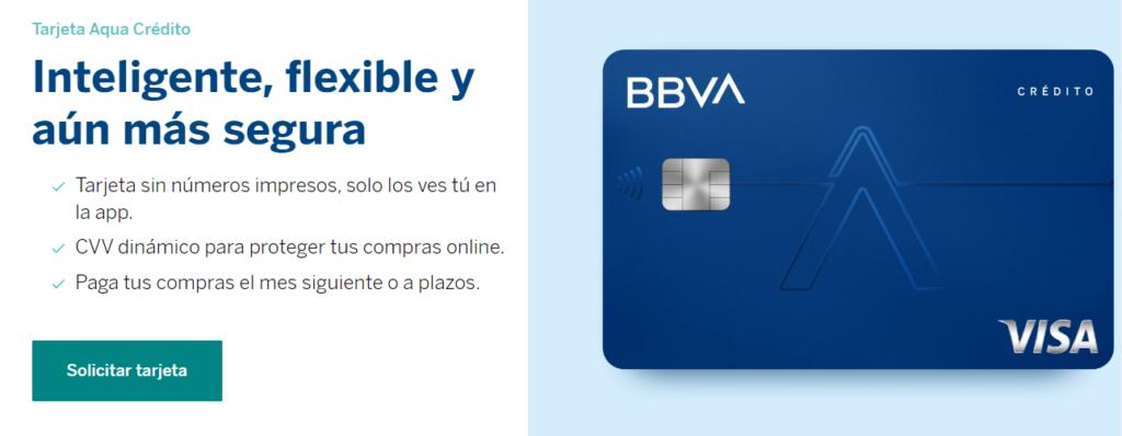 Tarjeta crédito BBVA Aqua