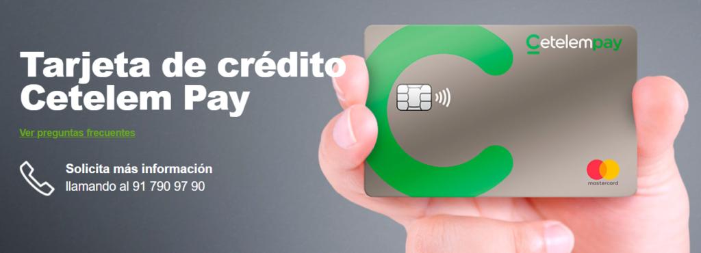 Tarjeta de crédito Cetelem Pay